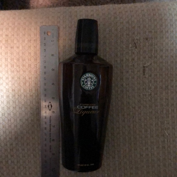 Rare Starbucks coffee Liqueur bottle empty